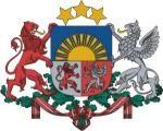 Изображение за Герб на Латвия