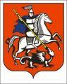 Изображение за Флаг + Герб Москва