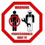 Изображение за Warning, Professionals Only !