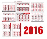Изображение за Джобен календар за 2016 - 9x6cm.