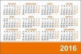 Изображение за Джобно календарче 2016