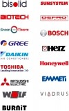 Изображение за Bisolid, Biotech, Green eco therm, Gree, Daikin, Toshiba, Mitsubishi electric, Wolf, Burnit, Sunsyst