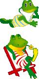 Изображение за векторна рисунка на жаба