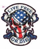 Изображение за Стикер - Live free or Die