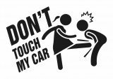 Изображение за Don't touch my car Sticker