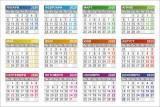 Изображение за Джобно календарче 2020